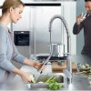 Grifos de cocina profesionales o tipo industrial  Fotos, características y precios