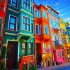 7 Casas de colores que te sorprenderán