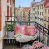 ¿Cómo decorar balcones y terrazas pequeñas?
