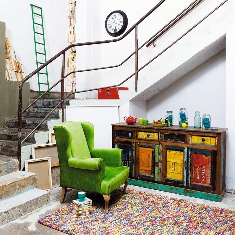 Muebles estilo industrial blogdecoraciones for Vitrina estilo industrial