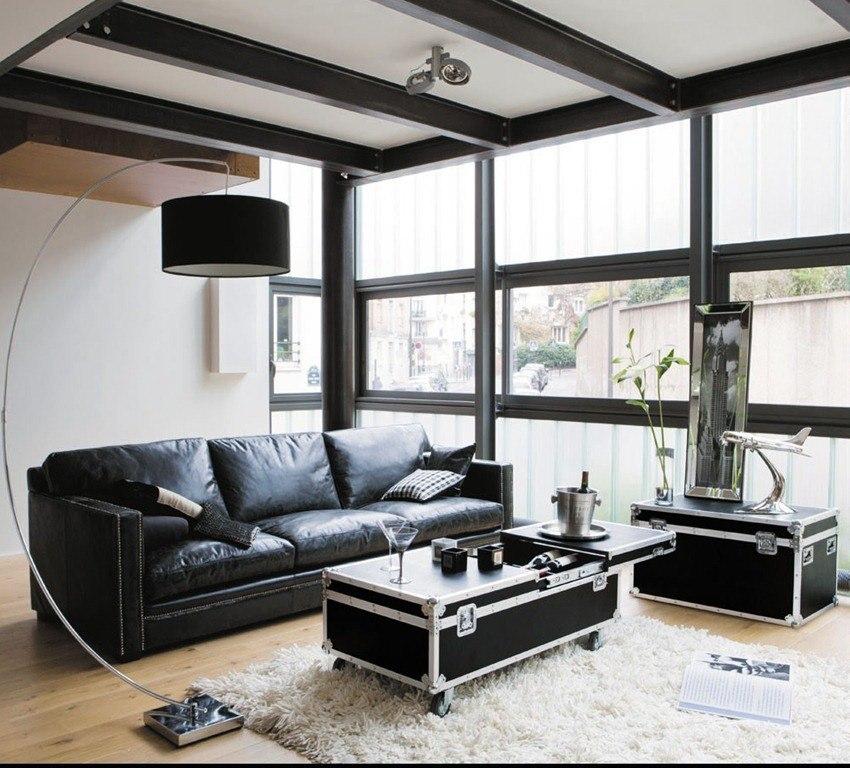 Muebles estilo industrial blogdecoraciones for Pintura estilo industrial