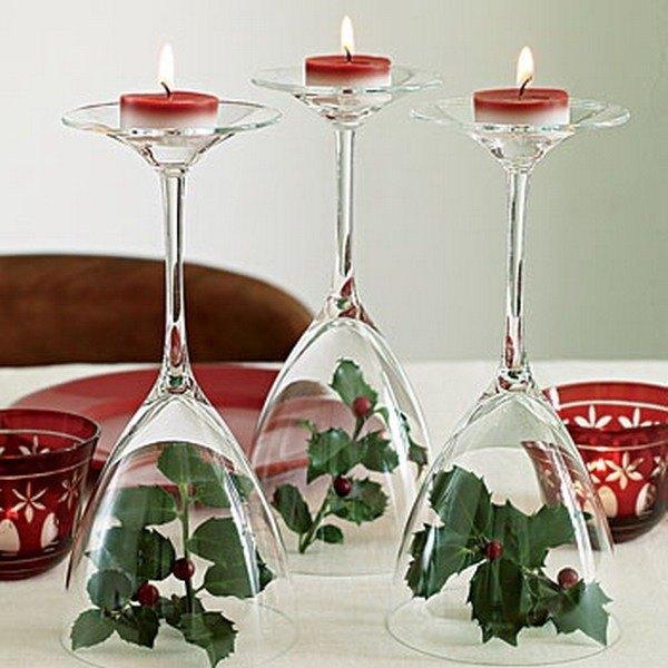 Buenas ideas para mesas de navidad blogdecoraciones - Como decorar centros de mesa para navidad ...