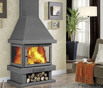 Las mejores estufas y chimeneas blogdecoraciones for Chimenea hierro fundido