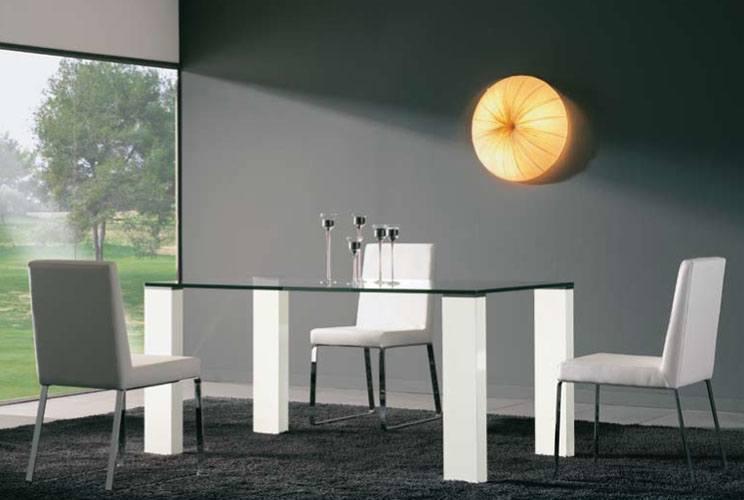Fotos de comedores modernos blogdecoraciones for Mesas de comedor de vidrio modernas