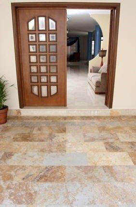 Pisos de piedra blogdecoraciones for Material parecido al marmol