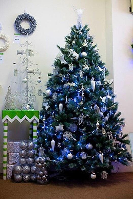 3 decoraciones de árboles de Navidad