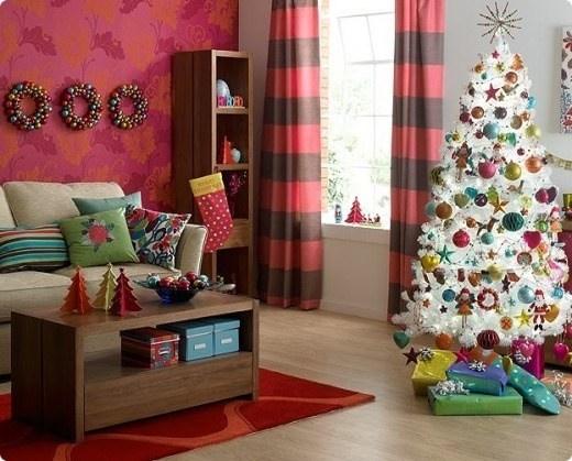 Rbol de navidad ideas para decorar rboles de navidad - Como adornar un arbol de navidad blanco ...
