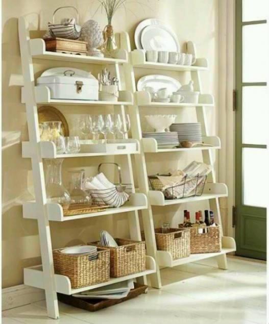 Ideas pr cticas para organizar la cocina con estilo - Estanterias para la cocina ...
