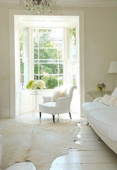 Decoracion en blanco ventanas