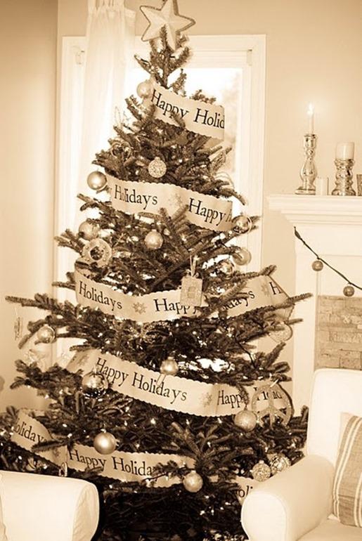 Arbol Navidad vintage