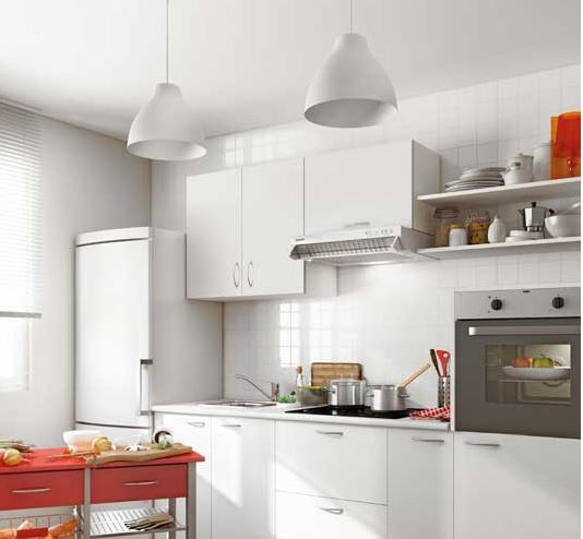 Cocinas baratas en leroy merlin modelo basic for Modulos de cocina precios