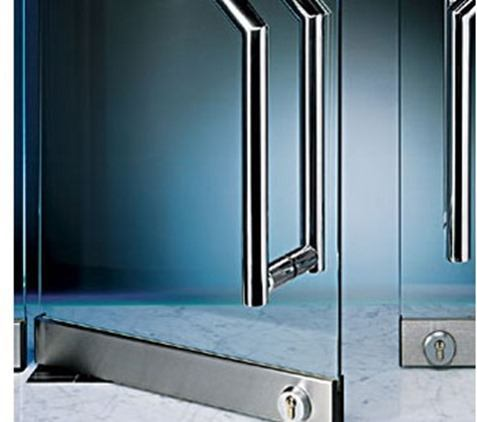 Puertas de cristal templado de seguridad blogdecoraciones - Puertas de paso de cristal ...