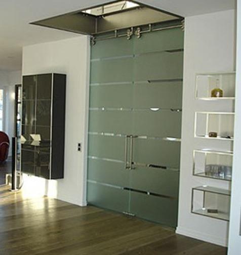 Puertas de cristal templado de seguridad blogdecoraciones for Vidrios decorados para puertas interiores