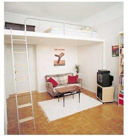 decoraci n pisos peque os trucos blogdecoraciones On ideas para aprovechar techos altos