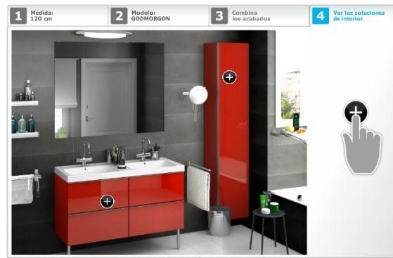 Muebles De Baño Rojos:Planificador de baños Ikea – BlogDecoraciones