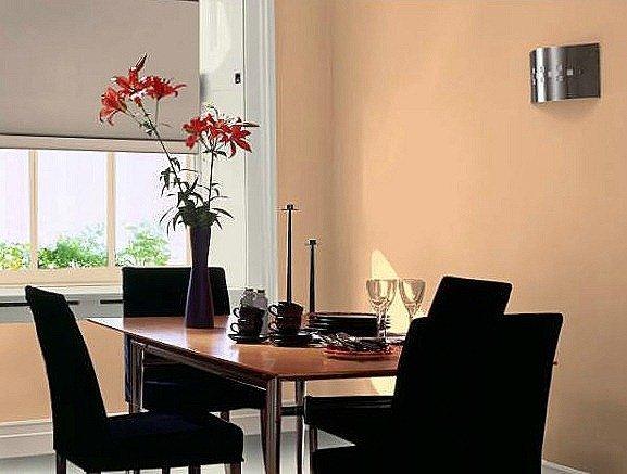 Muebles en negro color de las paredes blogdecoraciones - Color salmon en paredes ...