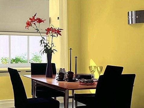 Muebles en negro color de las paredes blogdecoraciones for Color de paredes para muebles oscuros