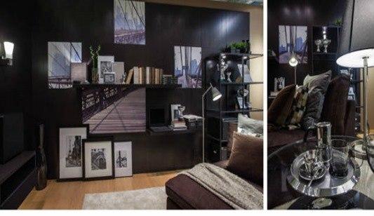 Famosos decorando con Ikea