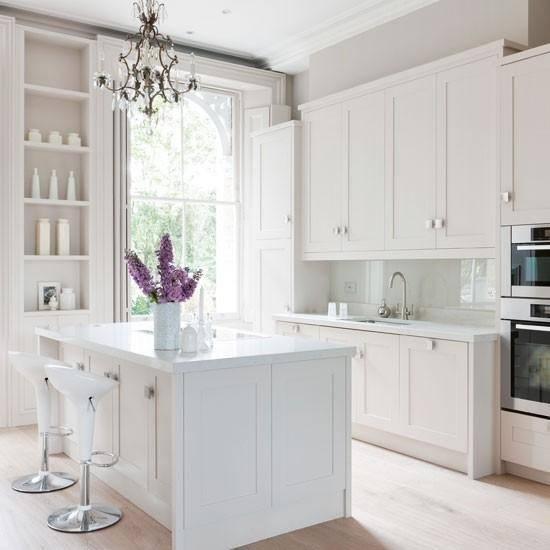 Decoración en blanco cocinas