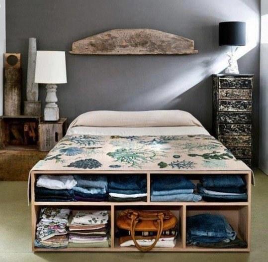 Cómo guardar cosas en dormitorios