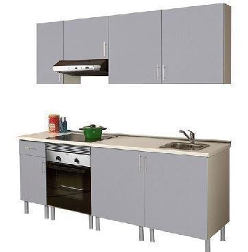 Cocinas baratas en leroy merlin modelo basic - Modulos cocina leroy merlin ...