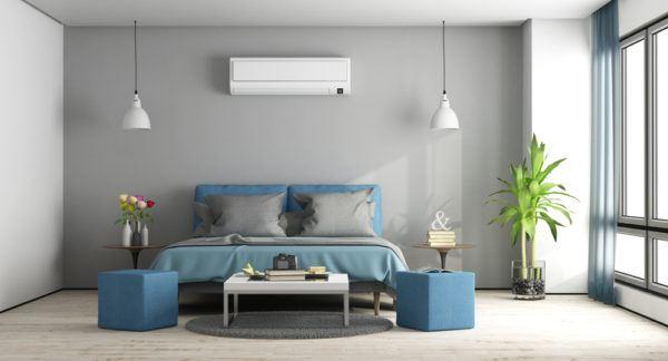 Colores que combinan con gris azul dormitorio