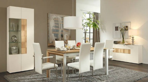 5 consejos para decorar un comedor moderno for Comedores rectangulares modernos