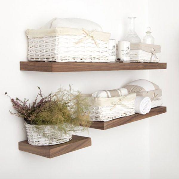 C mo hacer repisas de madera flotantes blogdecoraciones - Como hacer repisas de madera ...