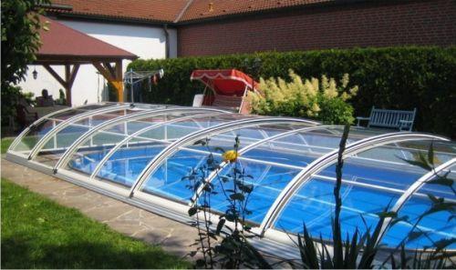 La piscina cubierta en invierno blogdecoraciones - Cubre piscinas intex ...