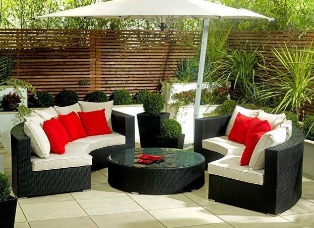 Tipos de muebles de jardín - BlogDecoraciones