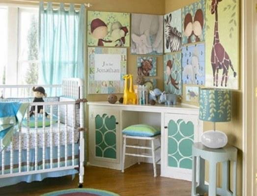 Decorar dormitorio bebé en azul