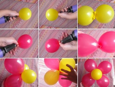 Decorar con globos blogdecoraciones for Como hacer decoracion con globos