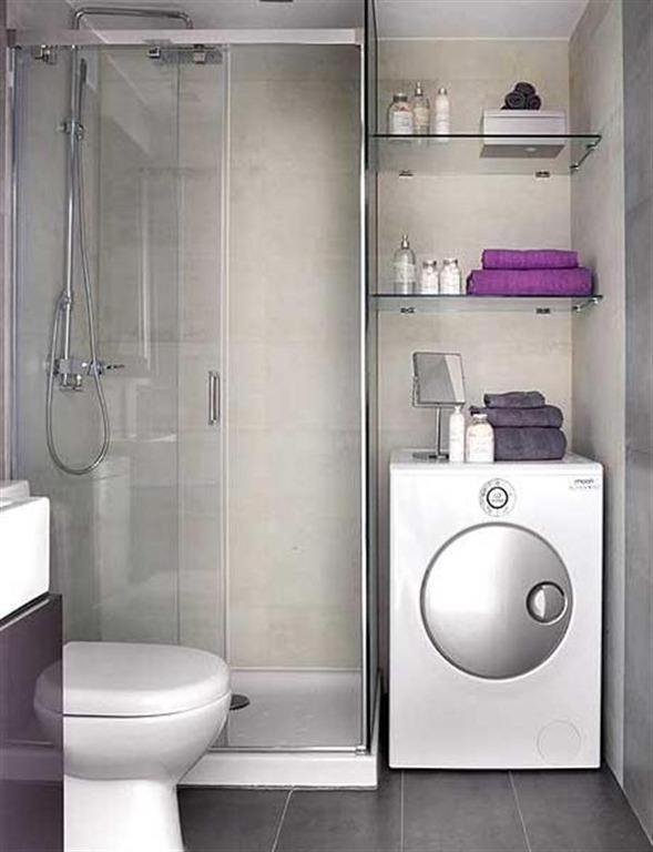 Inodoro Baño Pequeno:Baños pequeños como ganar espacio – BlogDecoraciones