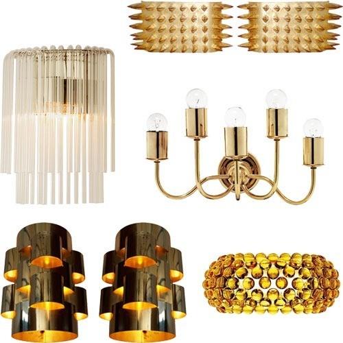 Apliques de pared decorar con luz blogdecoraciones - Apliques de luz rusticos ...