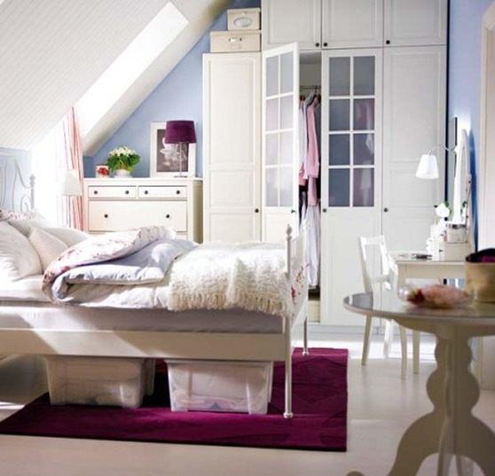 Cómo guardar cosas en los dormitorios con estilo