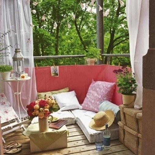 Decoracion Terrazas Pequenas Departamentos ~ Decoraci?n de balcones y terrazas peque?as