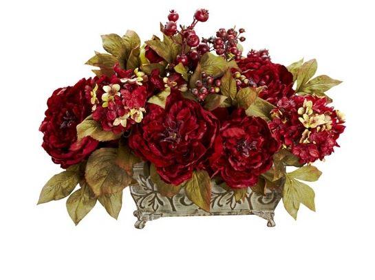 Ideas para decorar con flores artificiales 006