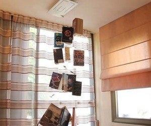 Librería de diseño para pisos pequeños