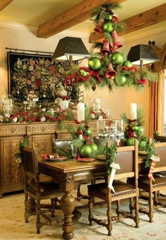 Decoraci n de l mparas para navidad blogdecoraciones - Decoracion mesa navidena ...