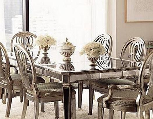 Muebles de espejo para decorar con estilo blogdecoraciones for Mesa espejo