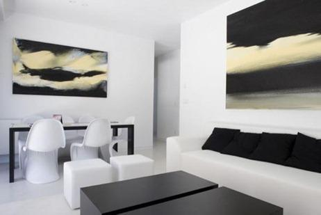 Modern-Modular-House-By-A-cero-Black-and-White-Living-Room
