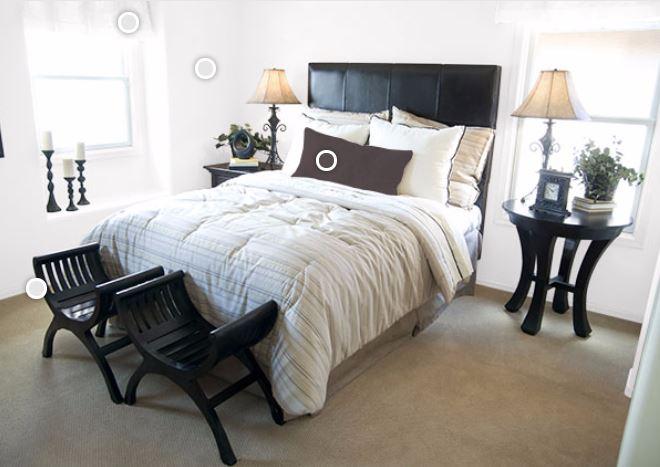 Muebles en negro 7 blogdecoraciones - Combinar colores paredes y muebles ...