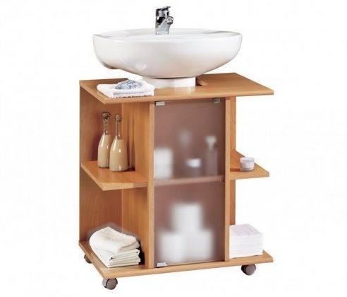 Hogarisimo ba os peque os como ganar espacio - Lavabos con mueble pequenos ...