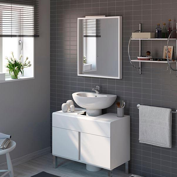 Muebles para lavabos con pedestal blogdecoraciones for Lavabo sin pie