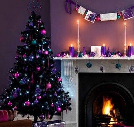 Navidad morado