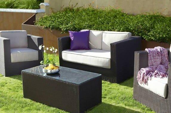 Sof s para el jard n o la terraza ideas para escoger for Sofas terraza baratos