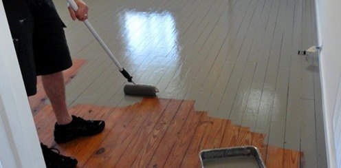 Can Tou Paint Over Satinwood Paint With Clear Varnish