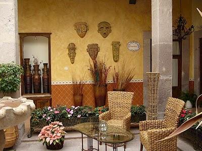Estilo de decoraci n mexicano blogdecoraciones for Elementos de decoracion de interiores