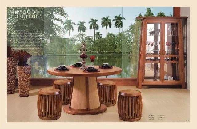 Muebles de bamb blogdecoraciones - Muebles de cana de bambu ...