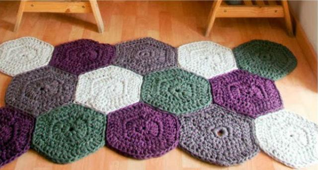 C mo hacer alfombras de trapillo las mejores ideas for Que son las alfombras